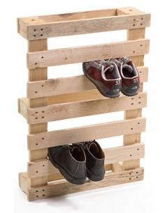 pallet shoe stand