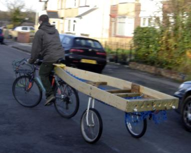 Bicycle Boat Trailer