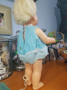 Tiny Chatty Baby Reroot Hair annd Outfit Stain Work Doll 2019-05-28