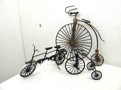 Metal Bike Decor